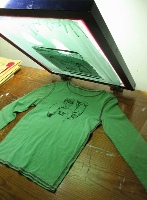 Silk Screen Screens : Silk screen july