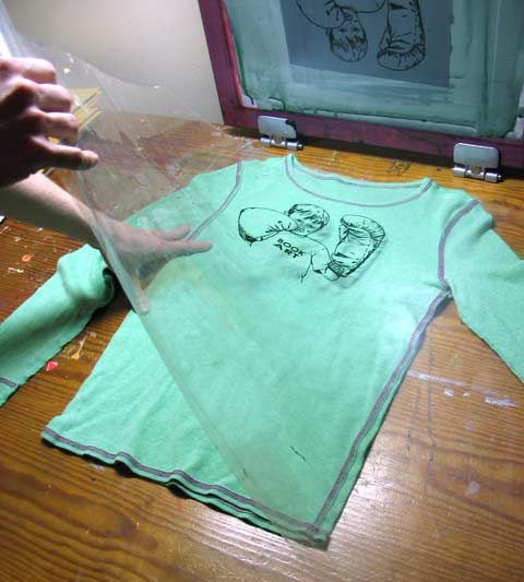 How To Silkscreen Posters And Shirts Jim Munroe